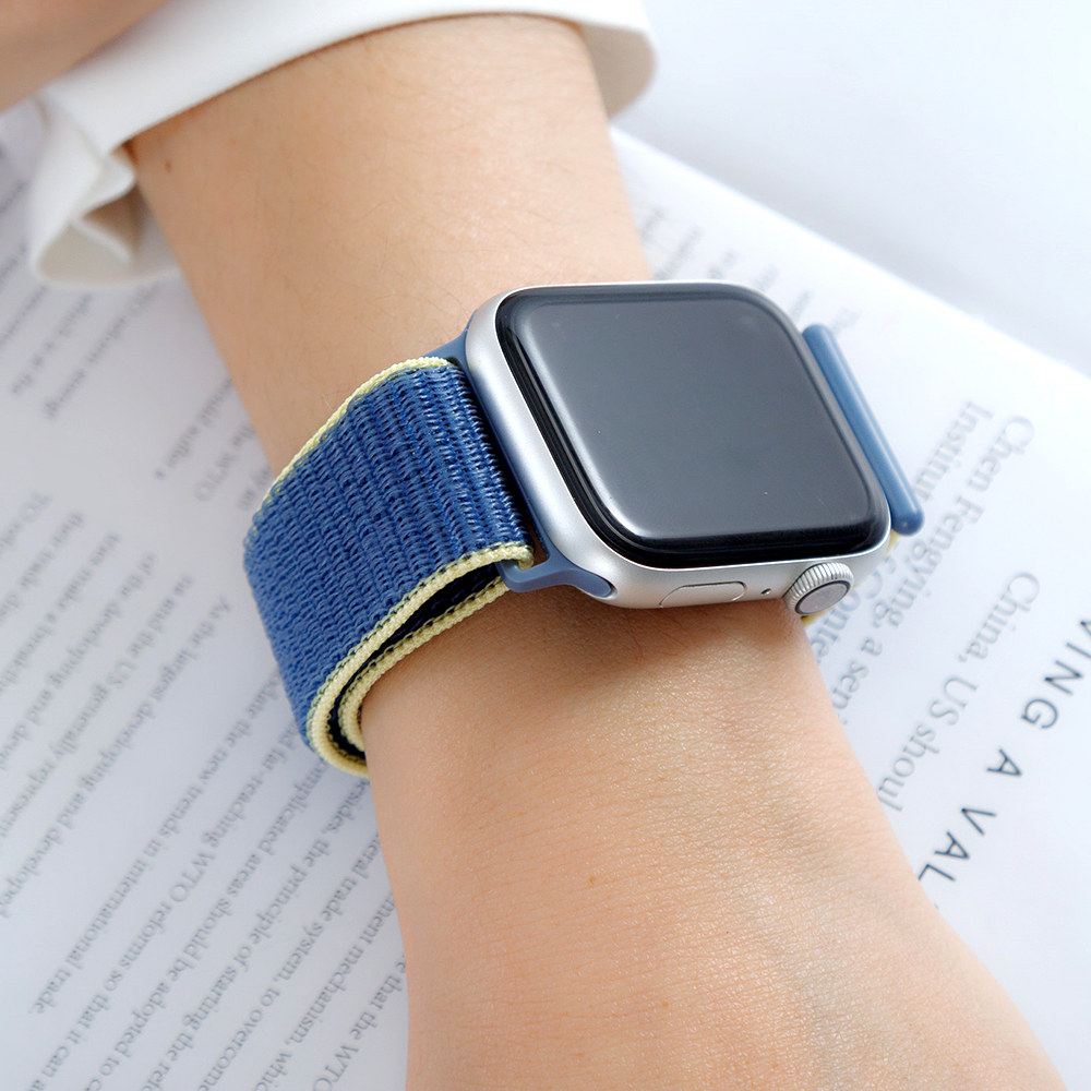 Nylon Strap For Apple Watch 5 Band 44mm 40mm IWatch Bracelet 42mm 38mm Sport Loop Iwatch Watchband Accessories 4 3 2 1 38mm 42mm
