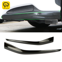 CarManGo For LEXUS NX200 NX300 NX300h Car Styling Front Bumper Fender Protector Cover Trim Frame Chrome Pad Exterior Accessories