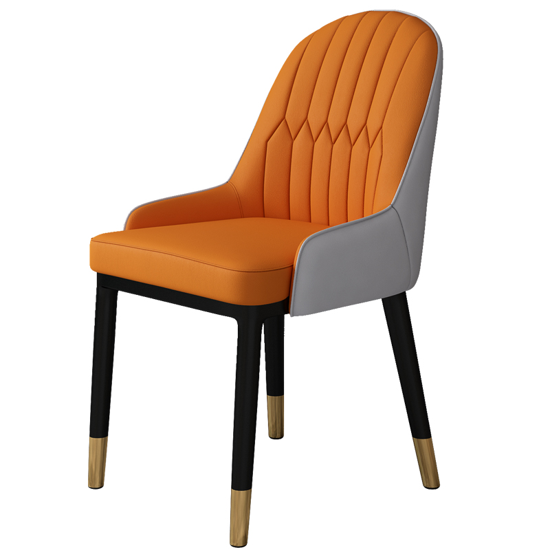 Northern Europe Light Luxury Dining Chair Modern Simple Family Restaurant Chair Chair Chair Chair Back Chair Discussion Nail Cof