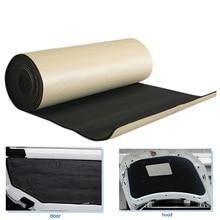 X AUTOHAUX 3mm/5mm/8mm/10mm Thickness Car Sound Absorption Noise Heat Proofing Insulation Cell Foam Cotton Deadener Mat
