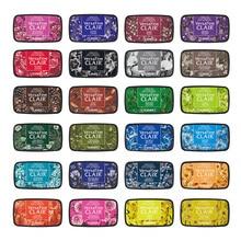 1pc Japan Tsukineko VersaFine CLAIR Inkpads Quick-drying Detail Printing Pad/color Ink Pad Making Greeting Cards/smearing Seals