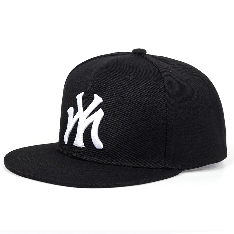 Yamally Summer Fashion Classic Letter Printed Hip Hop Cap Embroidered Casual Baseball Cap Mesh Back Hats for Men Women
