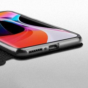 Image 4 - Оригинальный чехол Mofi для Xiaomi Mi 10, чехол для Xiaomi Mi Note 10 Pro, силиконовый чехол с откидной крышкой, Кожаный противоударный чехол для Mi10 Pro из ТПУ