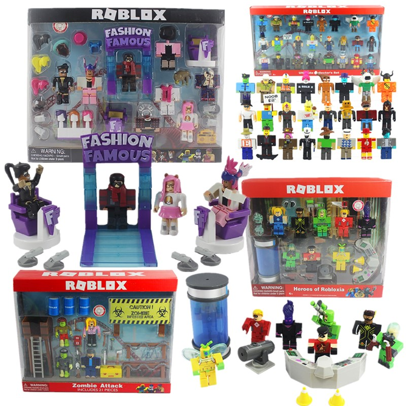 Boys Toys Robloxs-Figure Figuras Pvc-Game New-Suit Funny for 7cm Jugetes Joy