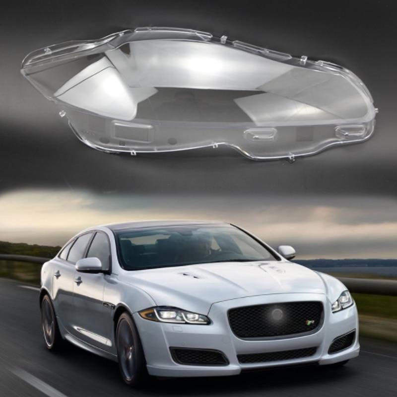 Pour Jaguar XJL lentille abat-jour lentille protection en plastique couvercle de phare phare en verre couvercle en plastique couverture en verre voiture capot wrap