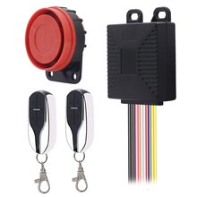 цена на Universal Motorcycle Scooter Anti-theft Security Alarm System Alarming Sirens with Engine Start Remote Control Key