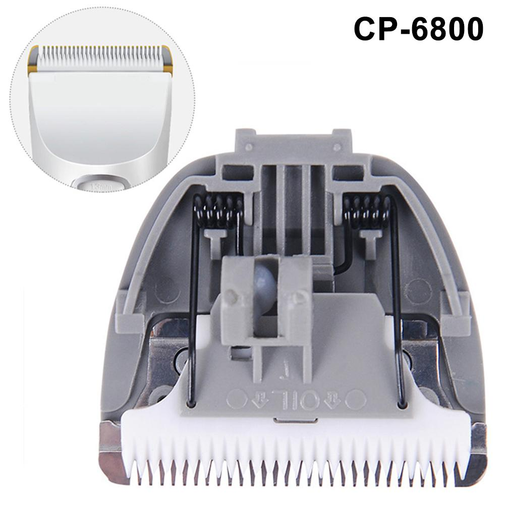 Replacement Ceramic Blade Clipper Head Trimmer Accessories For CP-6800 KP-3000 CP-5500