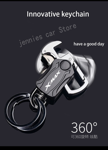 Image 3 - motorcycle Key Chain Keychain Metal Multifunction Keyring For Yamaha XMAX X MAX 125 250 300 400 2017 2018 2019 2020 Accessories