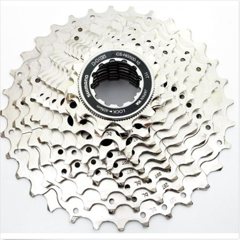 Shimano Tiagra 4700 CS-HG500 10 Speed 11-25T HG Road Bike Cassette Silver