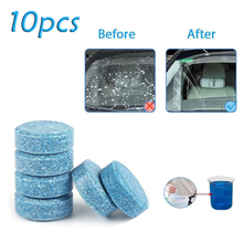 Car Effervescent Tablets Windshield Wiper Glass Cleaning Universal Window Floor Compact Solid Cleaner