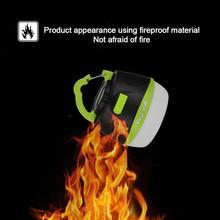 цена на USB LED Tent Light Mobile Power Portable Outdoor Camping Lamp 5 Modes Hiking Lantern Emergency Lighting