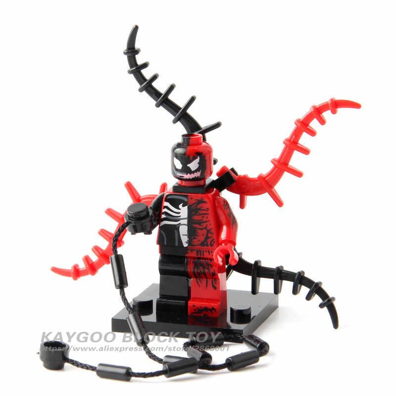 Única venda grande grande siez super heróis vingadores thanos anti veneno hulk carnificina blocos de construção brinquedos para crianças brinquedos