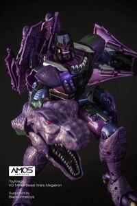 Image 4 - ToysMage TM01 שינוי רובוט KO גרסה MP 43 MP43 טירנוזאורוס חית מלחמות דינוזאור לוחם פעולה איור דגם צעצועים