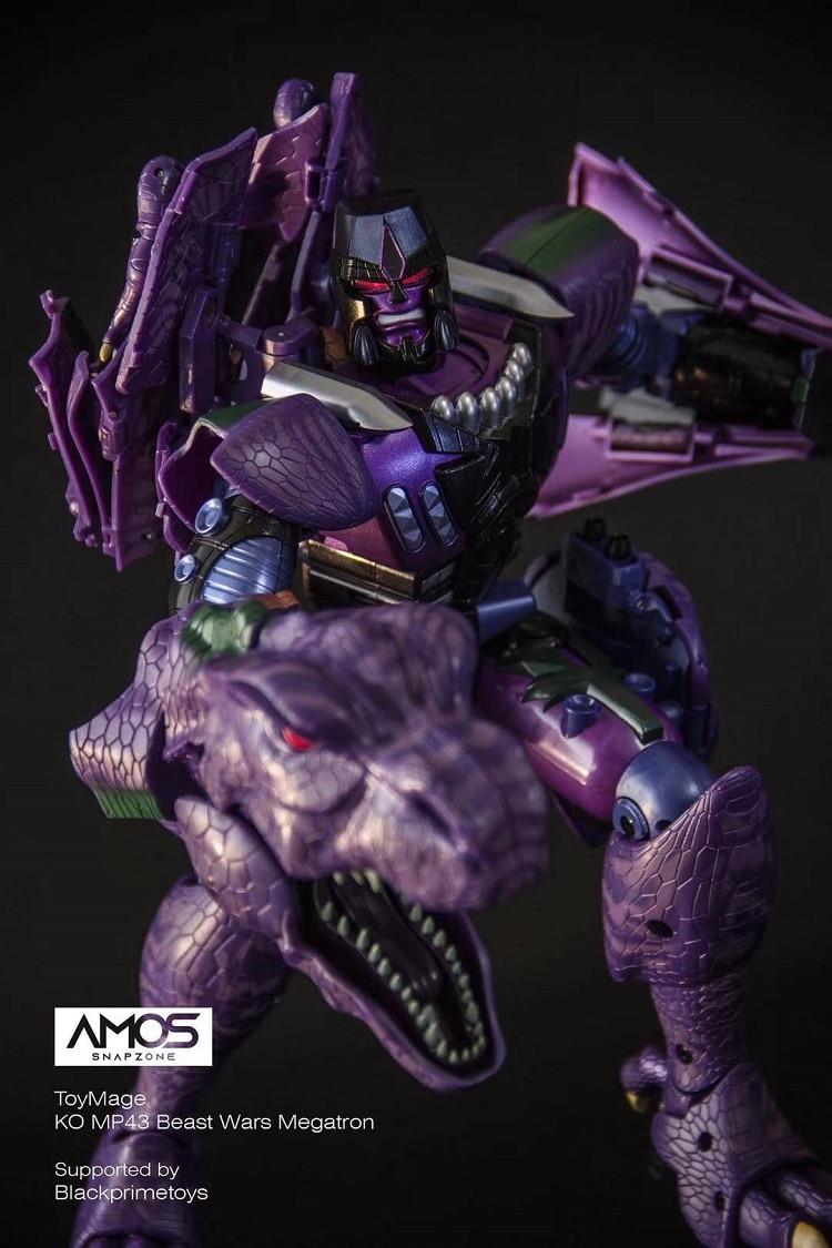 Image 4 - ToysMage TM01 Transformation Robot KO Version MP 43 MP43 Tyrannosaurus Beast Wars Dinosaur Warrior Action Figure Model ToysAction & Toy Figures   -