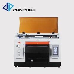Infrarood ray flatbed continue inkttoevoer a3 uv flatbed printer voor bal glas afdrukken