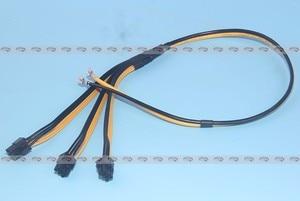Image 5 - 10pcs/lot Triple 3X PCI E PCIe PCI Express 6Pin GPU Graphics Card Splitter Power Cable  for BTC Miner Machine Bitcoin Litecoin