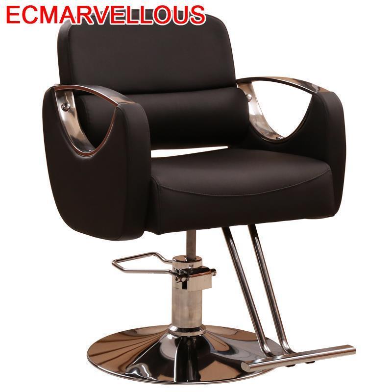 Barbero Barbeiro Beauty Sedie Barberia Cadeira De Cabeleireiro Salon Furniture Silla Barbearia Shop Barbershop Barber Chair