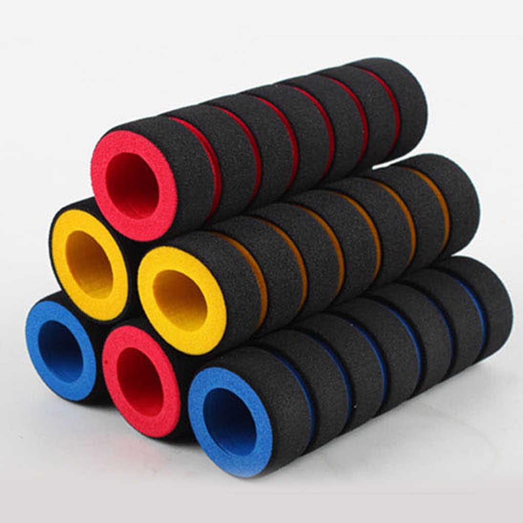 1 Pair Multi-color Soft Foam Handlebar Anti-skid Bicycle MTB Bar Grips Cover
