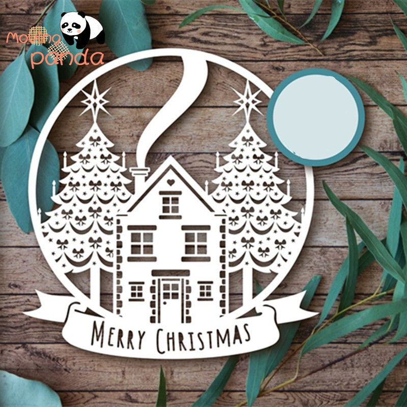 Merry Christmas Cutting Dies Metal Dies Scrapbooking Album Card Making Embossing Stencil Diecuts Decoration Cutting Dies Aliexpress