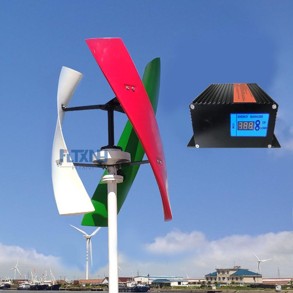 fabrica uso domestico streetlight uso turbina eolica 12v 24v 48v com coreless gerador nenhum ruido