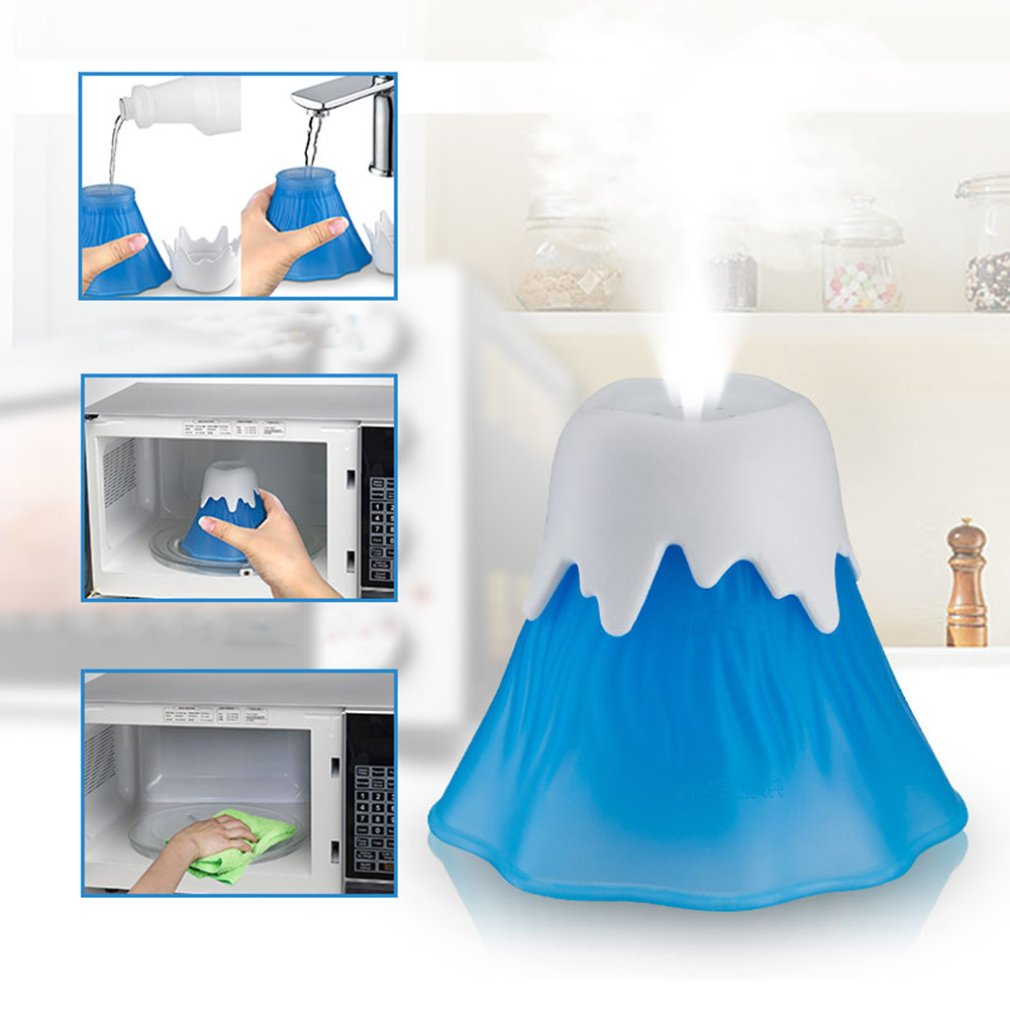 Microwave Cleaner Cleaner Kitchen Cleaning Small Helper Kitchen Dirt Cleaner With Double walled Wide Base in Cleaning Cloths from Home Garden