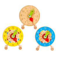 Juguetes Educativos de madera para niños, juguete de aprendizaje temprano para bebés, regalo de cumpleaños y Navidad