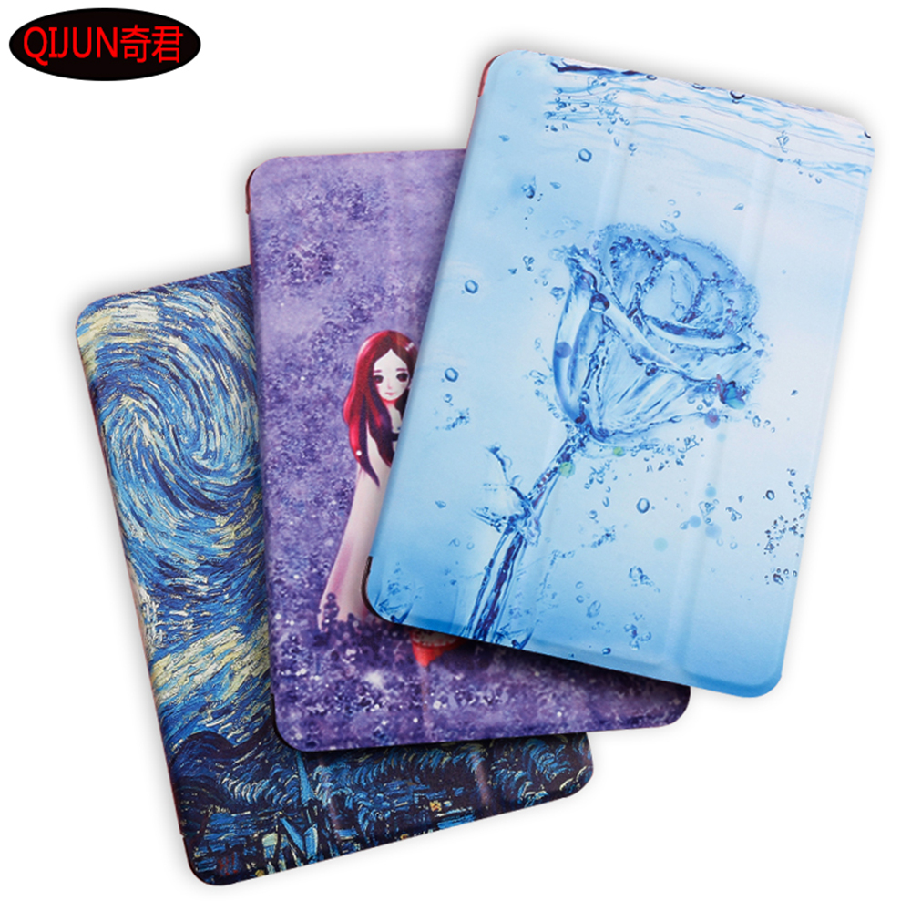 Tablet Cover For Apple IPad 2 3 4 9.7 Inch Case Flip Smart Painted Cartoon Stand Cover For A1395 A1396 A1416 A1430 A1460 A1459