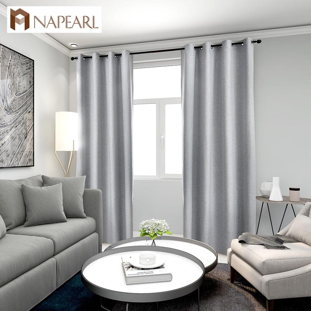 1 шт., 100% затемненные занавески для гостиной, окна, подходящие к любой одежде, современные драпировки, домашний декор, элегантные|Занавеска| | - AliExpress