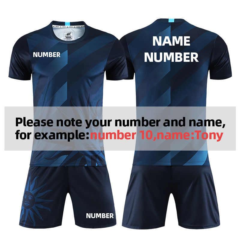 Football Jersey Sublimation Suit Men Sssports Training 2020 New Football Unlined Upper Garment Pattern Design Soccer Sets Aliexpress