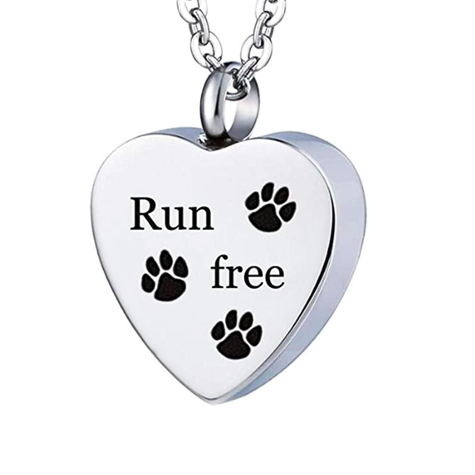 Memorial Ash Holder Pet Dog Pendant