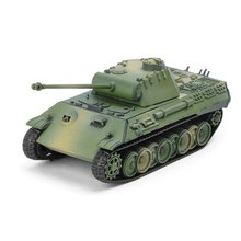 1:72 Tank 4D Assembly Model Tank Toy Simulation Military Building Block Quick Assembling Toy Ornament Decoration
