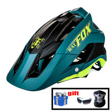 Batfox capacete da bicicleta dos homens das mulheres mtb capacete 2020 respirável esportes ao ar livre kask raposa capacete casco