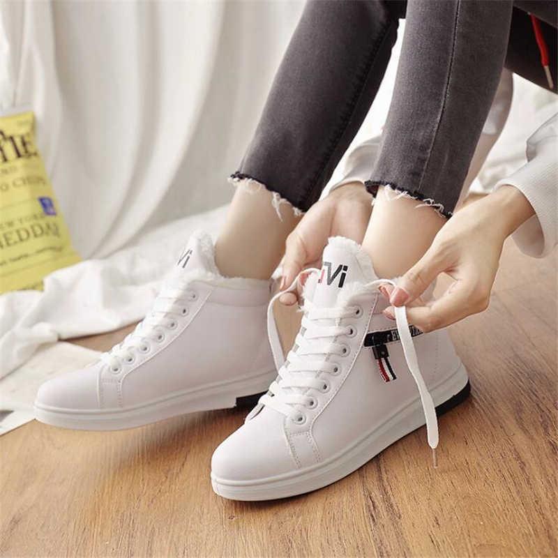 Frauen Stiefel Knöchel Stiefel für Frauen Plattform Weibliche Mädchen Pelz Stiefel Pelzigen Schnee Stiefel Winter Schuhe Frau