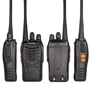 Image 4 - 3PCS Baofeng BF 888S Two Way Radio BF 888S 6km Walkie Talkie 5W Portable CB Ham Radio Handheld HF Transceiver Interphone bf888S