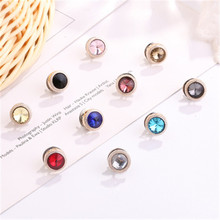 10pcs new small fresh anti-light button brooch set women's clothing button accessories cufflinks clothing decorative accessories