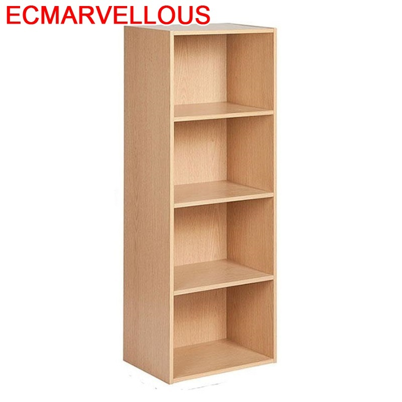 Meuble Rangement Decor Mobili Per La Casa Oficina Wall Shelf Shabby Chic Wood Furniture Retro Book Decoration Bookshelf Case
