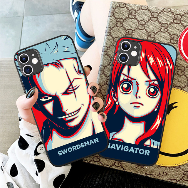 ONE PIECE THEMED IPHONE CASE (9 VARIAN)