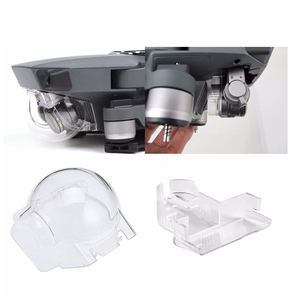 Image 3 - Objektiv Kappe Abdeckung Gimbal Halter Halterung Schutz für DJI Mavic Pro Platin Drone Protector Kamera Halterung Ersatzteile Zubehör