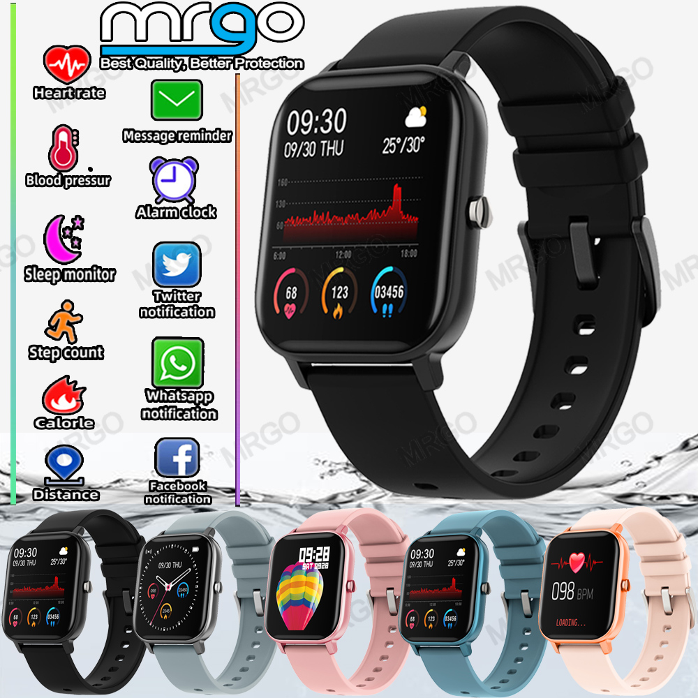 2020 Smart Watch Men Women Heart Rate Blood Pressure Monitor Bluetooth Connect Smartwatch Fitness for Android Watch Smart 1