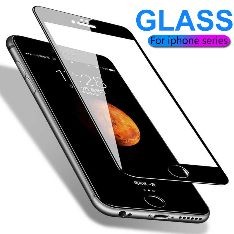 Protective Glass For IPhone 6 6S 7 8 Plus X XS 11 Pro Max Glass On Iphone 7 6 8 XR XS MAX 11 Pro MAX Screen Protector Protection