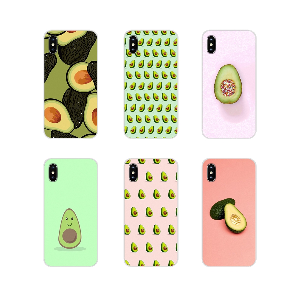 For <font><b>Samsung</b></font> A10 A30 A40 <font><b>A50</b></font> A60 A70 <font><b>Galaxy</b></font> S2 Note 2 3 Grand Core Prime Avocado <font><b>fruit</b></font> art Accessories Phone Shell Covers image