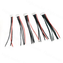5pcs Lipo Battery 2S 3S 4S 5S 6S length 10cm Balance Charger Cable For IMAX B6 Connector Plug Wire