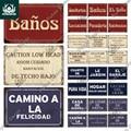 Декор Putuo, испанская вывеска, винтажный металлический жестяной знак, бар, паб, клуб, хогарена Бао, мужская пещера, Настенный декор, железная ж...