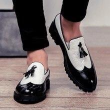Mocassins en cuir pour hommes, chaussures décontractées, respirantes, pour la conduite, confortables, à enfiler, taille 48, nouvelle mode