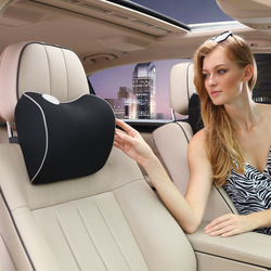 Quality Breathable Space Memory Cotton Cervical Spine Car Headrest Neck Safety Headrest Seat Supports Auto Internal Supplies