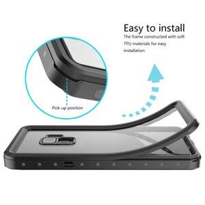 Image 4 - Su geçirmez kılıf Samsung Galaxy S10 S9 S8 artı not 9 not 8 durumda darbeye dayanıklı açık spor yüzmek için samsung S10 artı