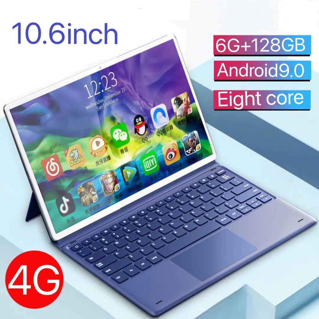 [2021 New] Tablet PC 10.1-inch Android phone 2-in-1 full Netcom learning machine dedicated for student games