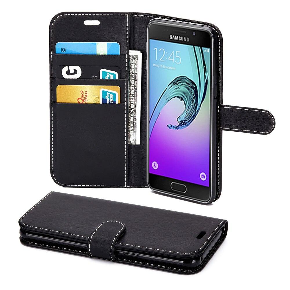 Geeignet für SAMSUNG A3 2017 Telefon Fall Leder Telefon Abdeckung A3 2017 Handy Schutz Halter Leder Fall