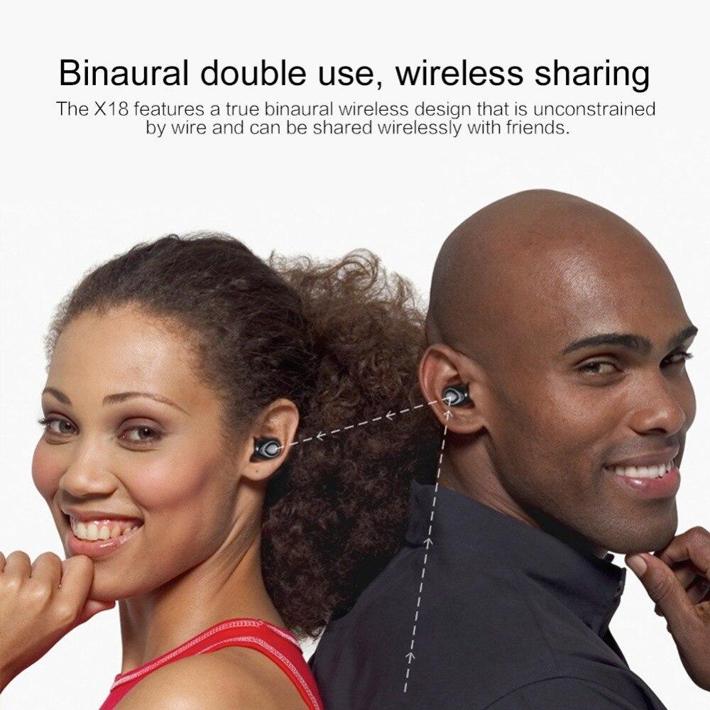 Écouteurs sport musique sans fil  X18