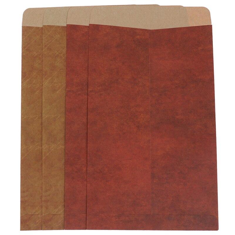 10pcs Retro Vintage Envelope Kraft Paper Envelopes DIY Decorative Envelope Small Paper School Office Supplies